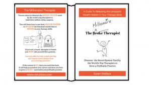 TThe Millionaire Therapist by Susan Wallace, MSc in Digital Marketing